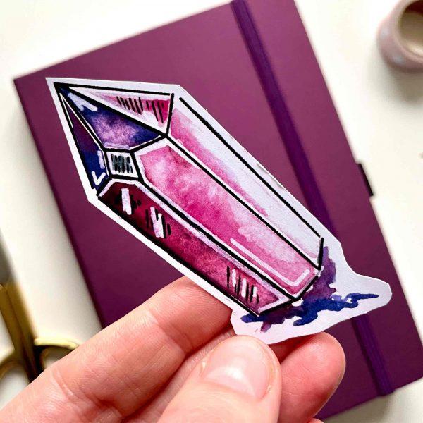 Kristal Die Cut Sticker