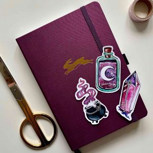 Set Magische Die Cut Stickers Bullet Journal Impressie